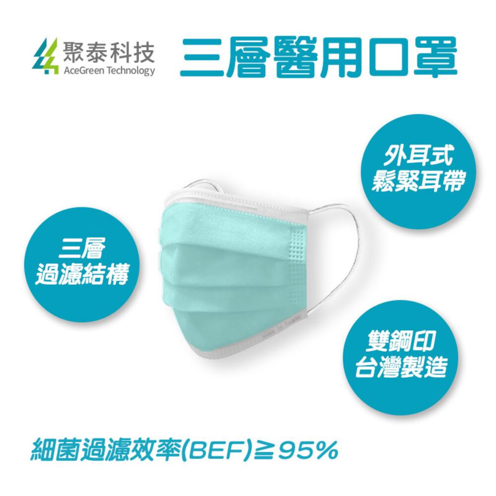 聚泰科技 三層醫用口罩(50入) 6色可選 醫療口罩
