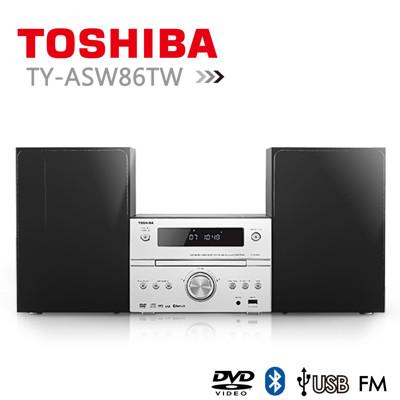 【TOSHIBA】DVD/MP3/USB/藍芽床頭音響 TY-ASW86TW (7.9折)