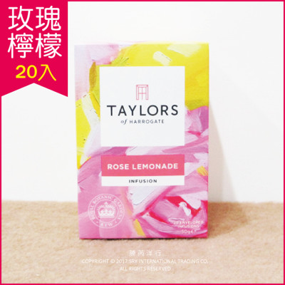 Taylors英國皇家泰勒茶「玫瑰檸檬茶(無咖啡因)」20入 英國皇室國宴茶 (7.4折)