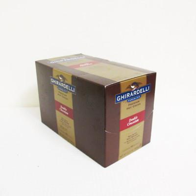 ★美國Ghirardelli鷹牌吉爾德利「濃情巧克力可可粉」15包/盒(混合糖、香草、巧克力,口感濃 (6.4折)