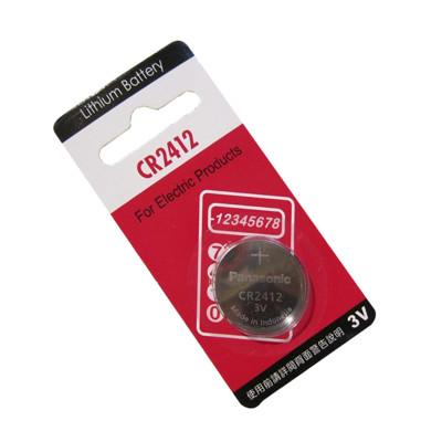 Panasonic 國際牌 CR2412 鈕扣型水銀電池(一組兩入) (6.9折)