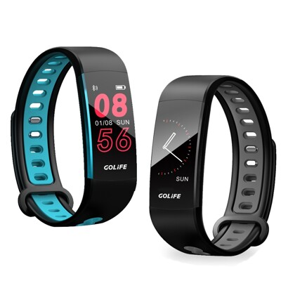 【網特生活】GOLIFE-Care 3 藍牙智慧觸控心率手環.走路跑步騎車登山彩色螢幕血氧偵測心率偵 (5.2折)