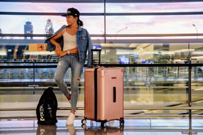 CENTURION美國百夫長CRUISE克魯斯系列29吋行李箱-玫瑰金A01(胖胖箱) (2.8折)