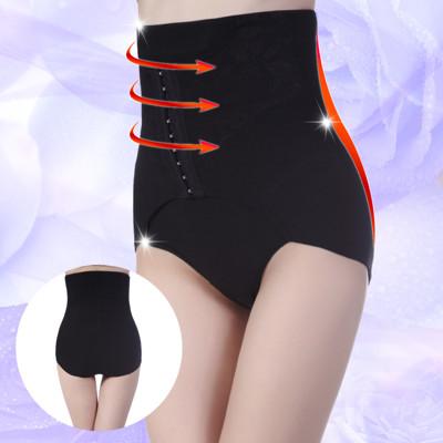 【我塑我形】特殊經典透氣孔洞蕾絲排釦纖腰塑腹雕塑褲 (3.7折)