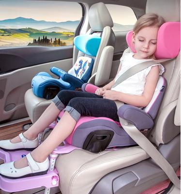 3-12歲汽車用兒童寶寶安全座椅增高墊大童車載便攜簡易坐墊 (7.6折)