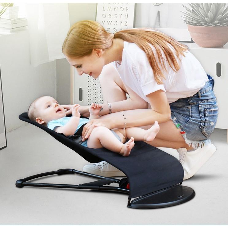 一件免運 嬰兒實用搖搖椅 嬰兒簡易搖籃椅 寶寶實用躺椅 嬰兒安撫椅 小孩簡易搖椅 新生兒童哄睡哄娃神