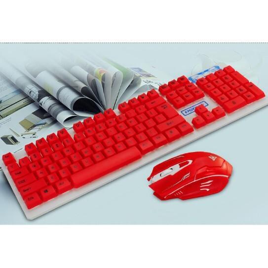 一套免運 無線鍵盤+無線鼠標 鍵盤鼠標套裝 家用 辦公室 吃雞lol專用鼠標鍵盤 無線滑鼠 現貨