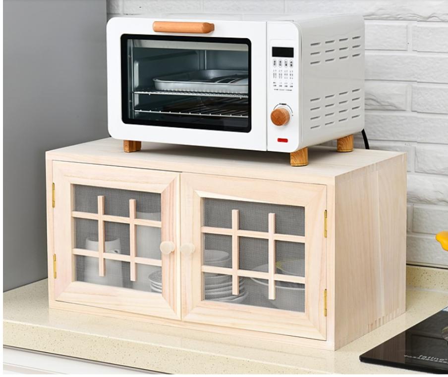 小碗櫃 廚房儲物櫃 蔬菜櫃 實木質餐邊櫃 透氣調料櫃 收納櫃