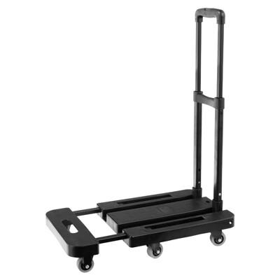 TRENY 六輪折疊平板車-黑 附彈力繩 2756 (10折)