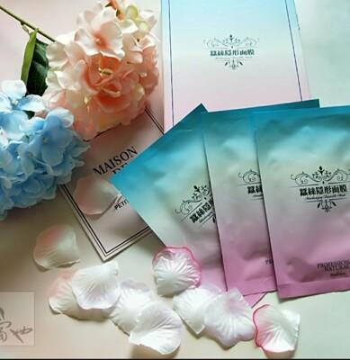 ❀淡淡玫瑰味❀貴婦般享受❀【山本富也】蠶絲隱形面膜 (6片/盒) (5.1折)