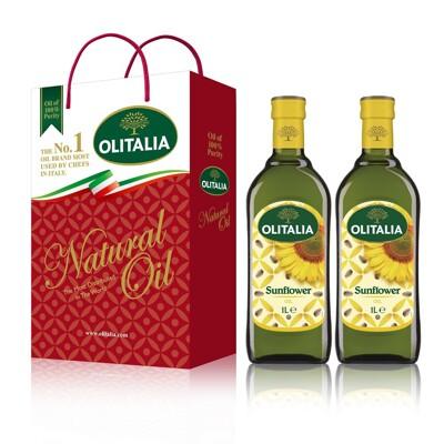 Olitalia 奧利塔頂級葵花油禮盒(1000mlx2瓶) (6折)