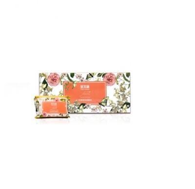芙玉寶 花舞香氛潔膚皂/柚子香皂85g±5gx(6入裝) (9.4折)