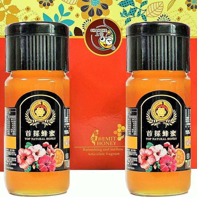 上喆蜂蜜 首採蜂蜜禮盒700g(1入禮盒)(1瓶入禮盒)