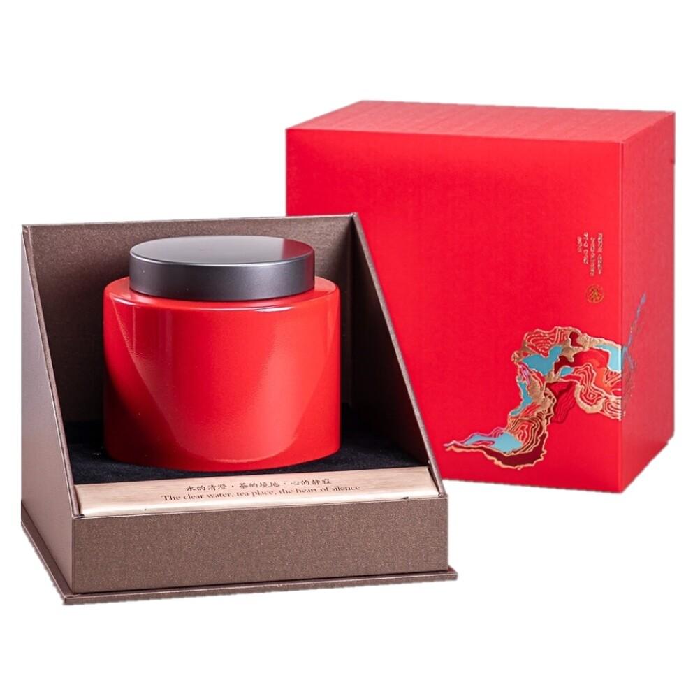魚池鄉農會日月潭紅茶 茶葉禮盒(大單罐)4兩/罐(約150g)