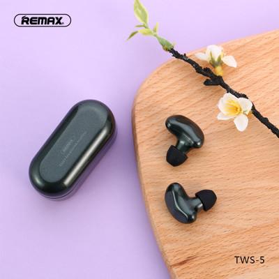 REMAX TWS-5 真無線藍芽立體聲音樂通話耳機 (6.2折)