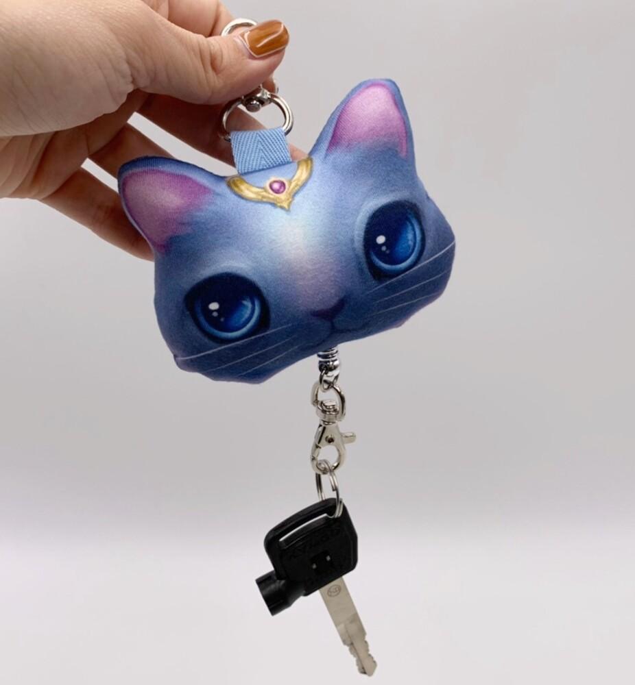 可愛動物伸縮扣  鑰匙圈 卡片吊夾 tb