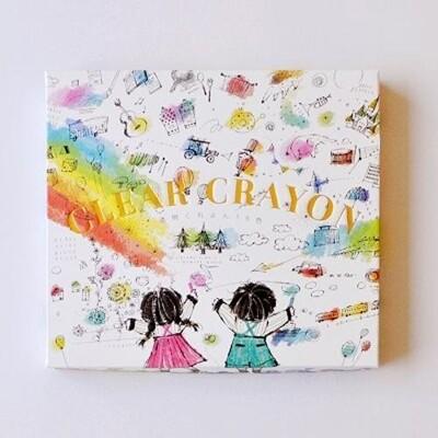 日本 Kokuyo 透明蠟筆 兒童 蠟筆 開學必備 畫圖 繪畫(16色) (8.1折)