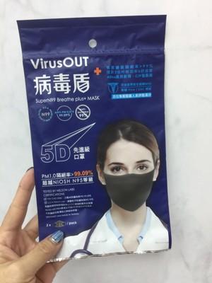 台灣製~ Super N99病毒盾口罩 (6.2折)