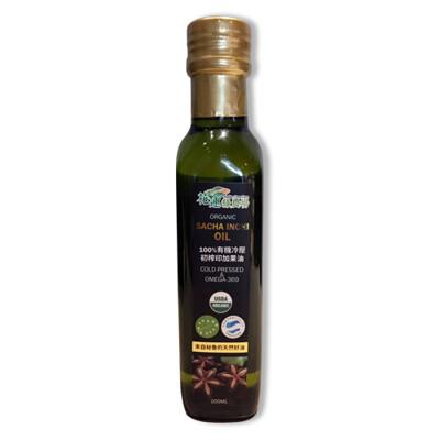 JENPIN饌 100%有機冷壓初榨印加果油200ml (星星果油) (7.2折)