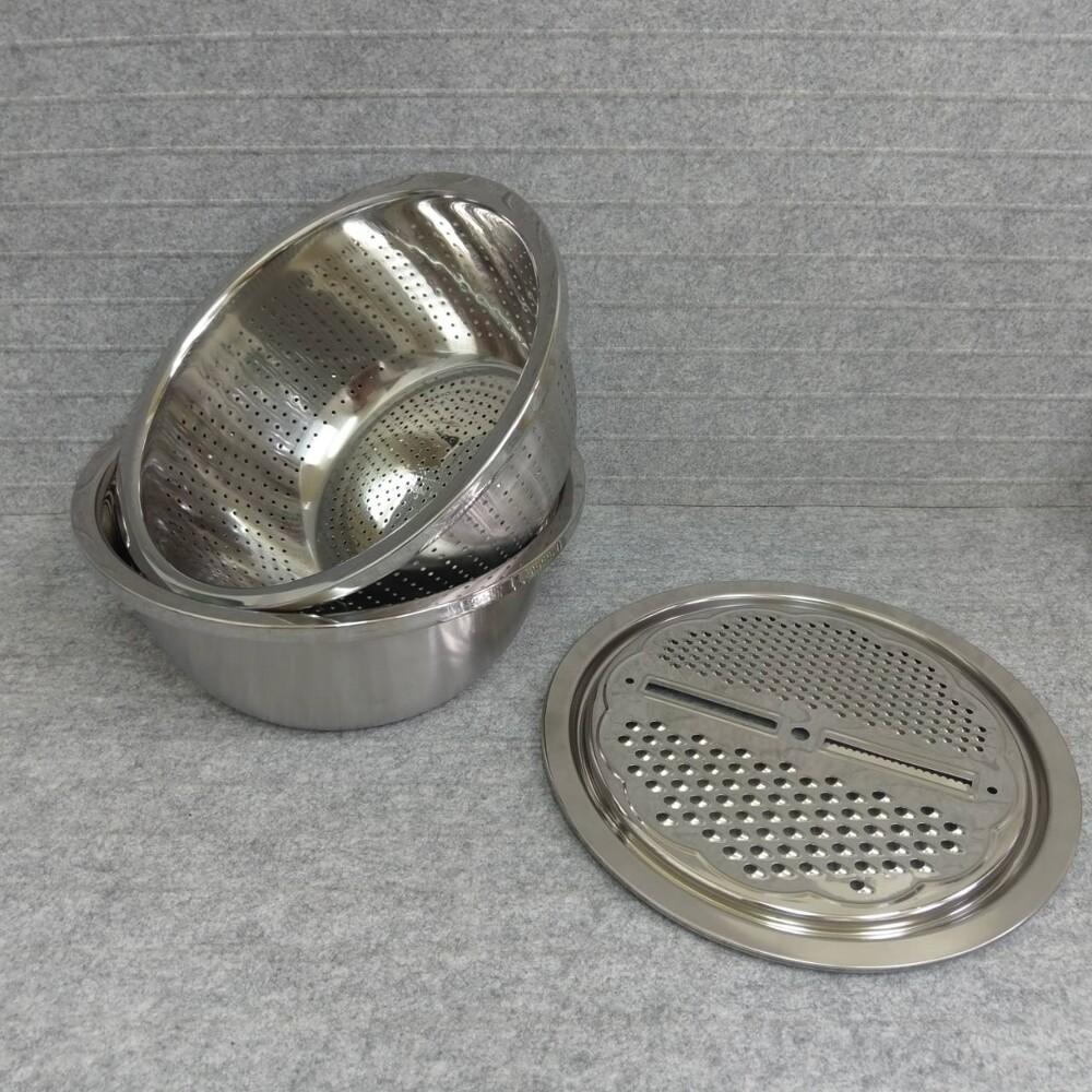 dasiang多功能料理瀝水盆/調理盆三件組