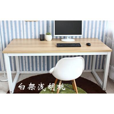 ~簡約臺式電腦桌雙人辦公桌簡易家用寫字臺書桌雙人長條桌學習桌 - 長140*寬50*高74 (6.3折)