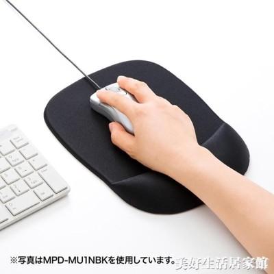 SANWA 大尺寸人體工學減輕疲勞護腕帶記憶棉滑鼠墊柔軟ATF 咕嘰咕嘰 (6.2折)