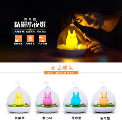 微景觀療癒系童話精靈小夜燈 (3.9折)