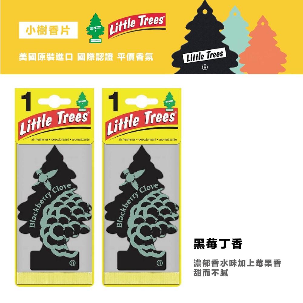 q-star全新上市 美國 little trees 小樹香片 香氛片 車用芳香吊飾(黑莓丁香)