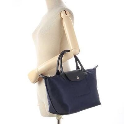 【真品保證】LONGCHAMP Le Pliage NÉO短提把兩用小型尼龍水餃包側背包手提包 (8.1折)