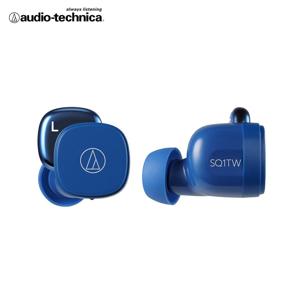 鐵三角 ath-sq1tw 真無線耳機(藍色)