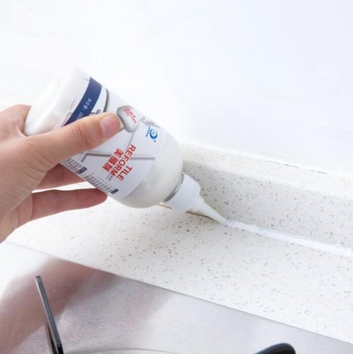 磁磚填縫劑 (280克) 防水防霉磁磚美縫劑 瓷磚縫隙修補膠 瓷磚地磚裂痕牆面 磁磚填縫劑