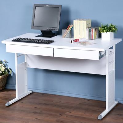 yostyle 巧思辦公桌 加厚桌面120cm(附抽屜*2) 工作桌 書桌 電腦桌 (3.7折)