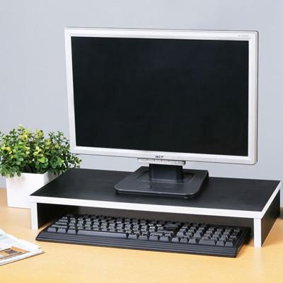 Yostyle 多功能收納桌上螢幕架(黑色) (5折)