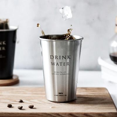 北歐風不鏽鋼水杯 304不鏽鋼 鹿角 造型 不鏽鋼杯 環保杯 水杯 隨手杯 隨行杯 (6折)