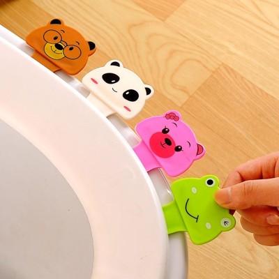 可愛動物造型馬桶掀蓋器 衛生 創意 手提 不髒手 馬桶蓋不沾手掀起器【RS537】 (1.3折)