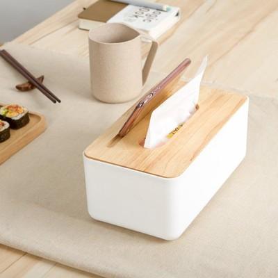 手機架 橡木 面紙盒 面紙 衛生紙 盒【RS617】