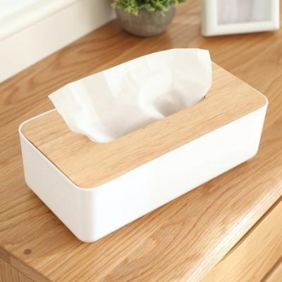 簡約款 橡木 面紙盒 衛生紙 收納盒【RS619】