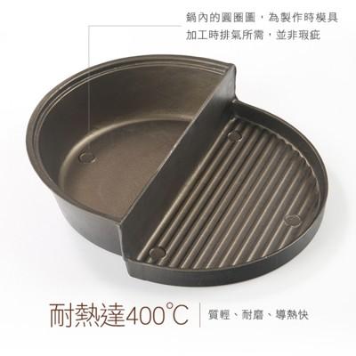 MIT 陽極耐磨不沾兩用火烤盤 火烤兩吃一次滿足 (7.9折)