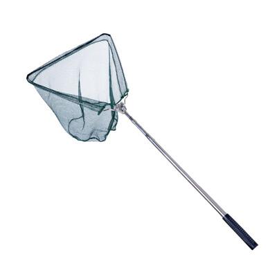 伸縮 折疊 鋁桿 三角漁網。抄網、折疊、伸縮折疊式魚網、摺疊手撈網、伸縮漁網、伸縮手抄網 (6.6折)