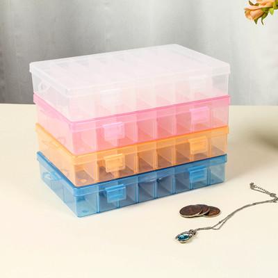 中小號 可拆 24格 可調 24格盒 24格收納盒 透明塑料 24格DIY 收納盒 24格零件盒 (7.5折)