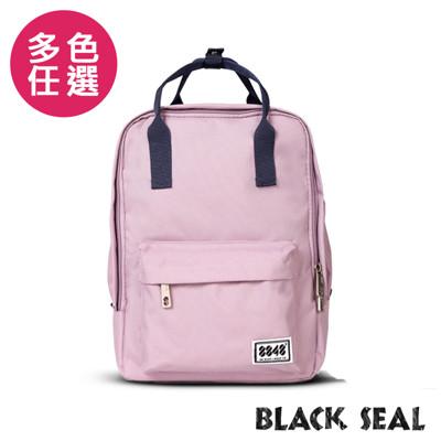 BLACK SEAL 聯名8848系列-多隔層休閒小方型後背包-5色BS83008 (6.3折)