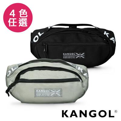 KANGOL LIBERTY系列 韓版潮流LOGO背帶腰包-KG1191 (7.7折)