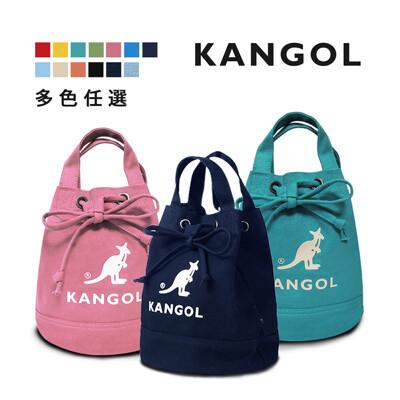 KANGOL 韓版玩色系列-帆布/牛仔斜背水桶包- AKG1214 (5.6折)