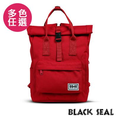 BLACK SEAL 聯名8848系列-捲蓋式多隔層休閒後背包-6色BS83041 (6.3折)