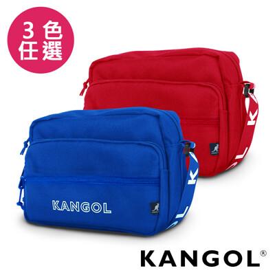 KANGOL LIBERTY系列 韓版潮流LOGO背帶橫式側背包-KG1192 (7.7折)