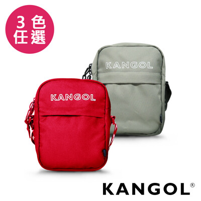 KANGOL LIBERTY系列 韓版潮流LOGO背帶小型側背包-KG1194 (7.7折)