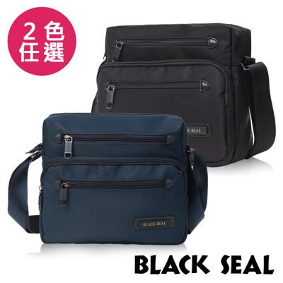 BLACK SEAL 經典休旅系列 多隔層收納休閒橫式斜背/側背包-BS8493 (5.6折)