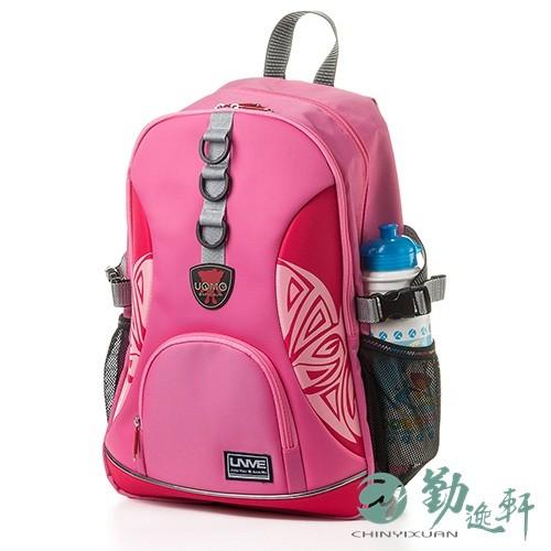 unme圖騰多層休閒後背包-粉紅色 熱銷top1