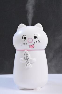 [次氯酸水可用] 精緻立體 貓咪加濕器 水分子霧化機 水氧機 薰香機 水霧機 噴霧機 (4.1折)