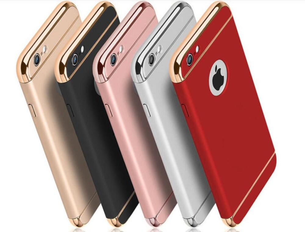 奢華 iphone xs max xr 三段式手機殼 電鍍保護殼 可掛繩背蓋